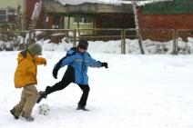 © Indigofish   Dreamstime.com - Winter Football Photo