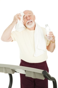 © Lisafx | Dreamstime.com - Senior Workout - Cool Down Photo