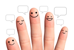 © Pipopthai   Dreamstime.com - People Talk In Speech Bubbles, Isolated With Clipping Paths. Soc Photo