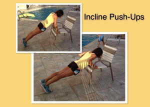 Chair Incline Push Ups