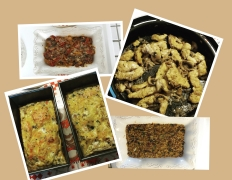Some of our recipes prepared by Cindy