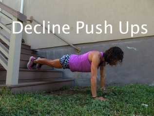Decline Push Ups Stairs 1