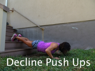 Decline Push Ups Stairs 2