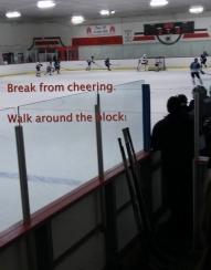 Hockey Break to Walk