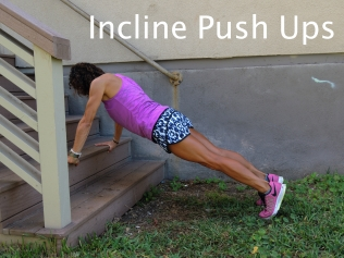 Incline Push Ups Stairs 1