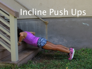 Incline Push Ups Stairs 2