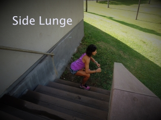 Side Lunge Stairs